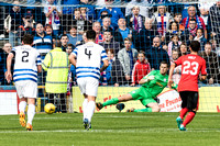 Greenock Morton FC V Rangers FC, Ladbrokes Championship Game, Sunday 27th September 2015;